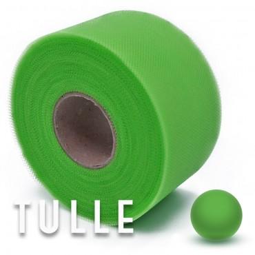 Fettuccia di Tulle Verde chiaro Metri 50